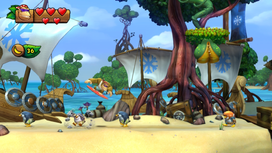 """Обзор Donkey Kong Country: Tropical Freeze"